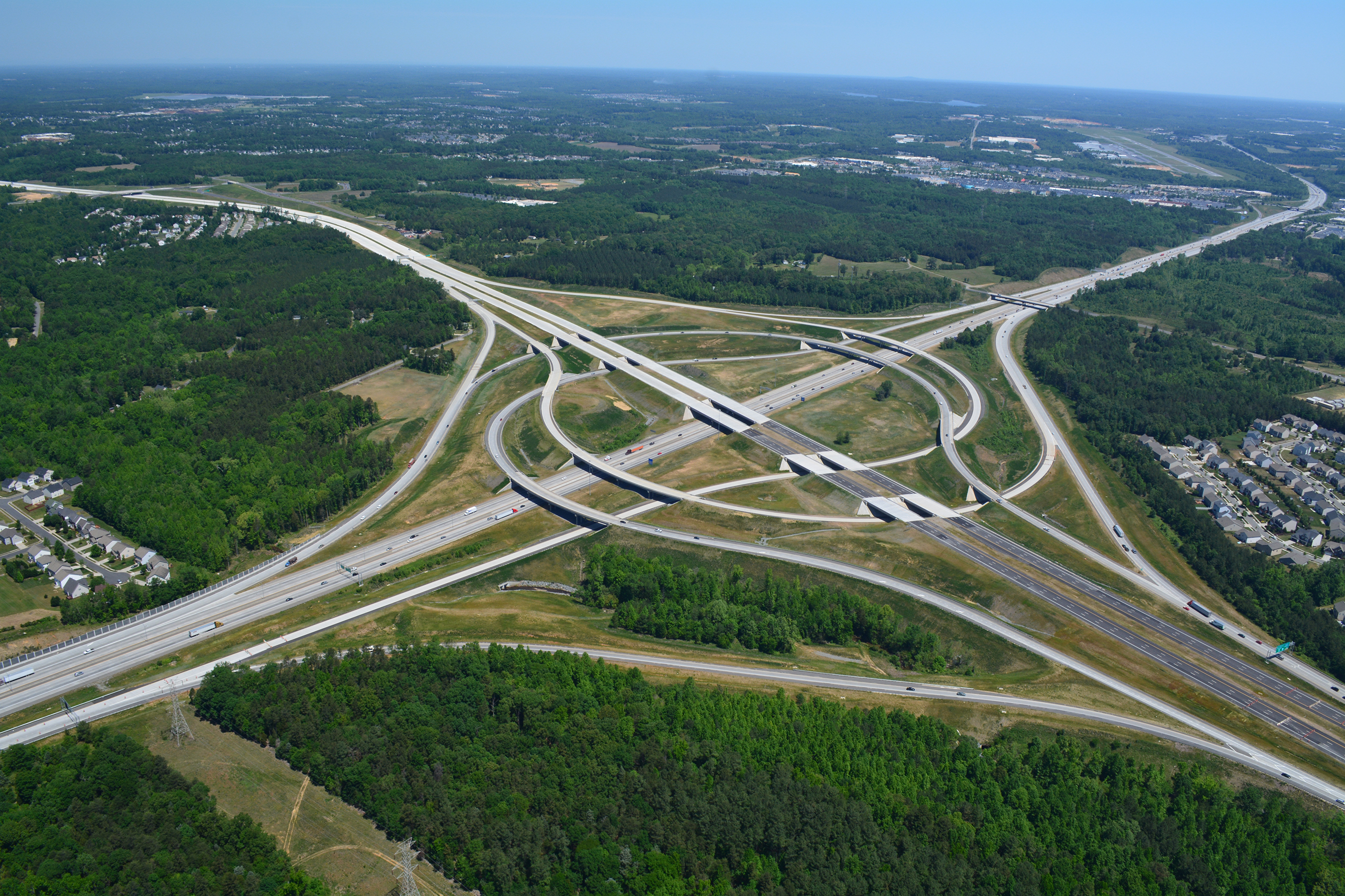 I-485/I-85 Turbine Interchange