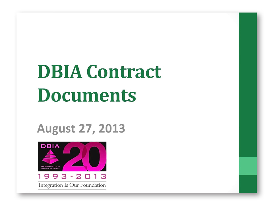 Contracts Dbia