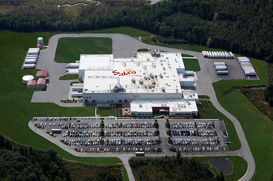 Sabra Dipping Company's LEED Gold Certified Processing Facility in South Chesterfield, Virginia
