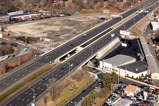 Rehabilitation of Four Bridges, Route 8, Bridgeport, Connecticut