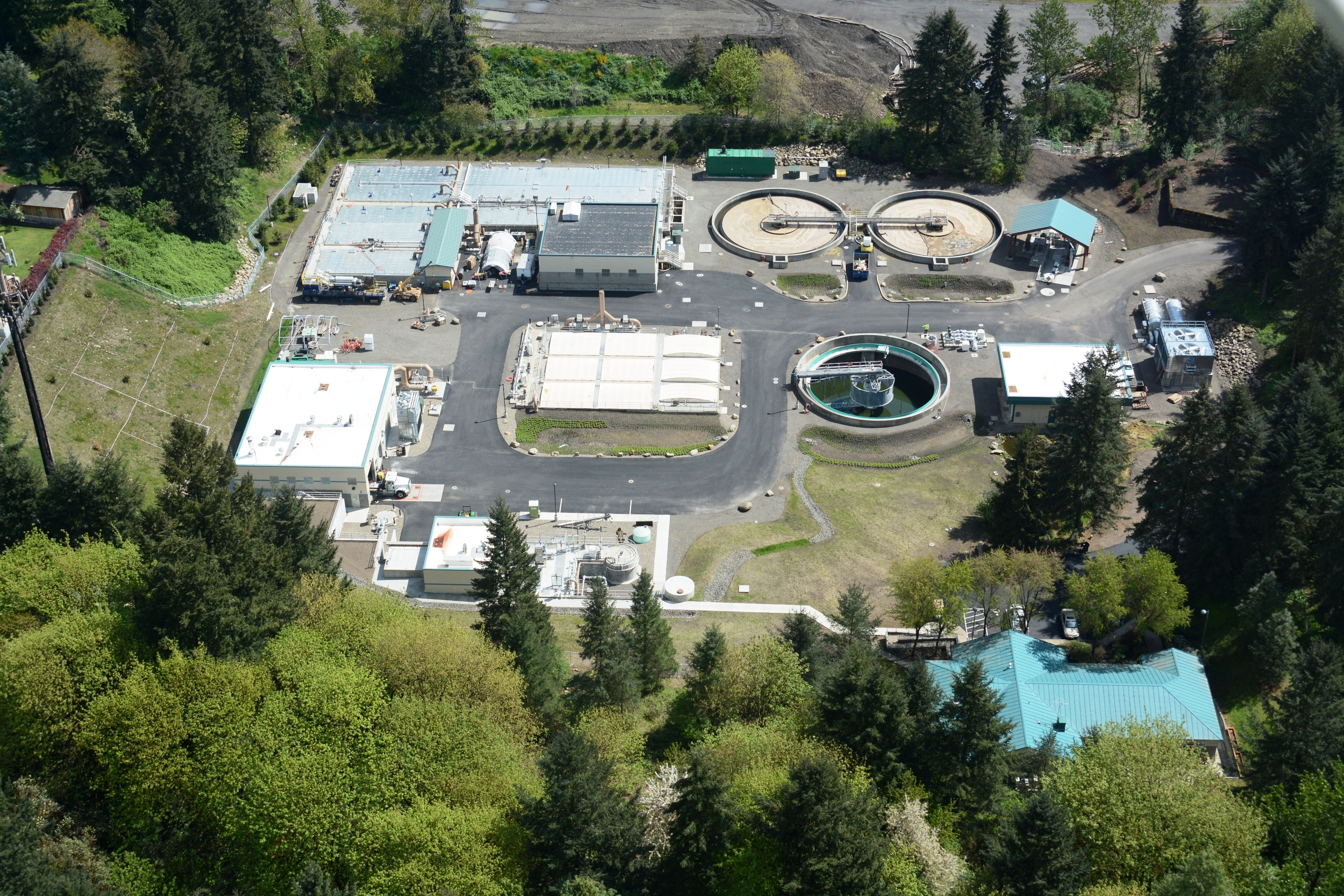 Wilsonville Wastewater Treatment Plant Improvements Project – DBIA