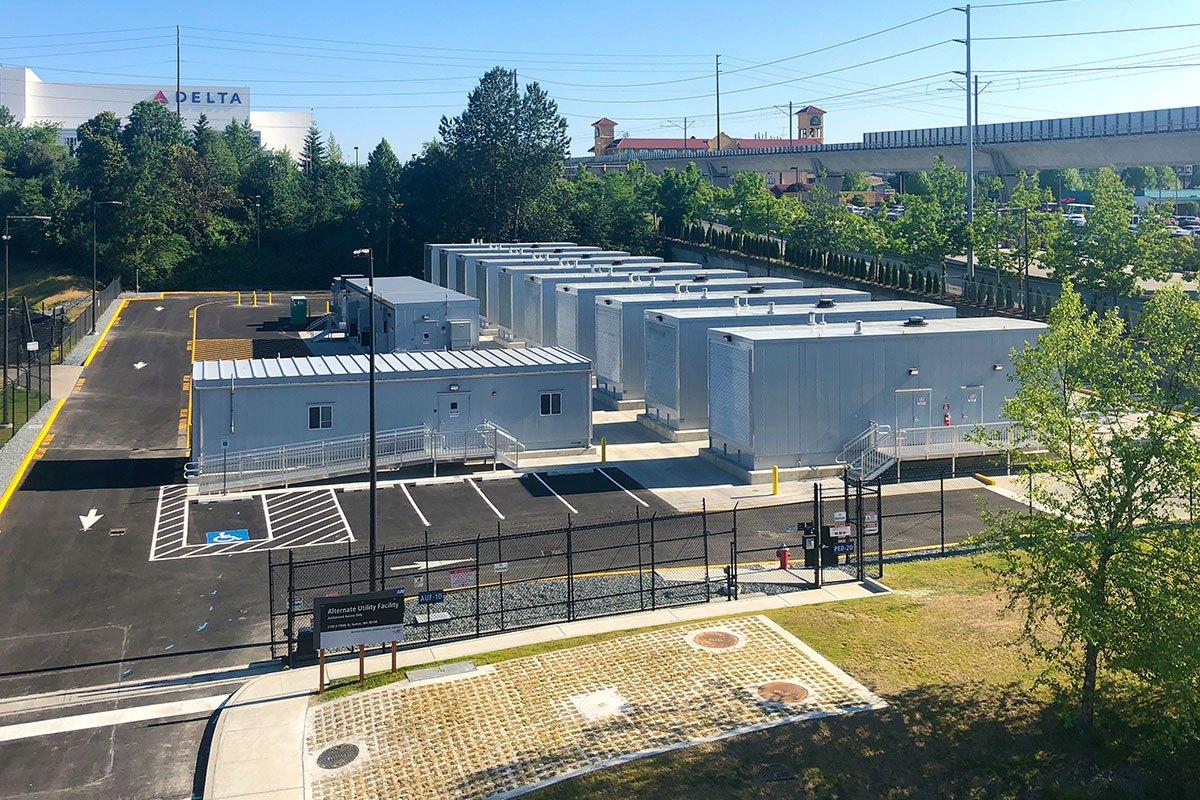 Alternate Utility Facility at Seattle-Tacoma International Airport