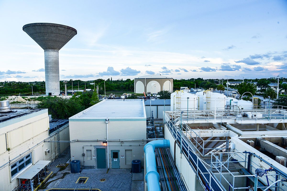 Ion Exchange Resin Plant and East Water Treatment Plant Improvements, City of Boynton Beach, Florida