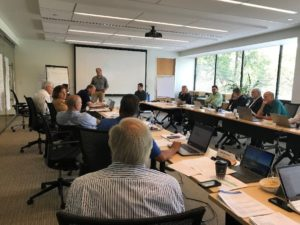 2019 DBIA Awards Jury Meeting at DBIA National Headquarters