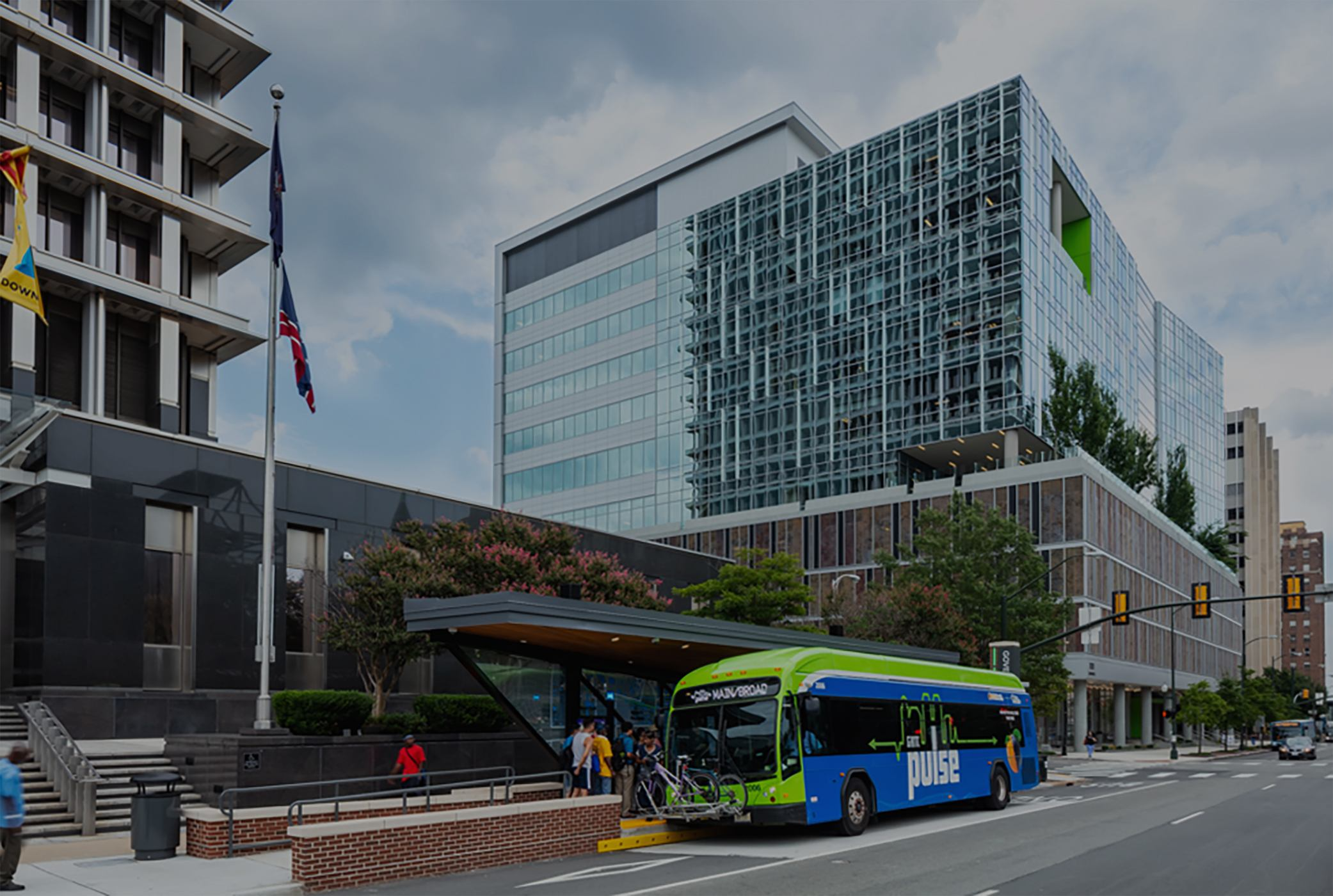The Pulse Bus Rapid Transit System